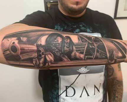 tatuaje cholas