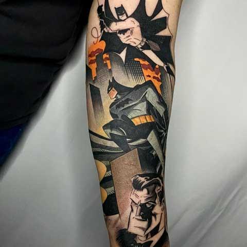 Tatuaje de Batman