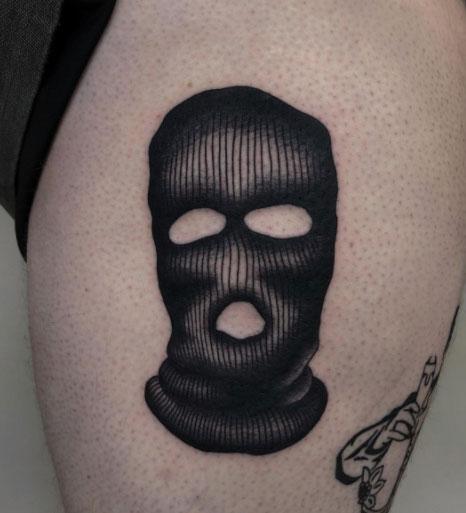 Tatuaje de Pasamontaña