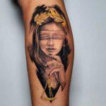 tatuaje de themis