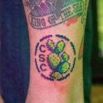 tatuaje nopal pixeleado