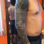 slave tattoo azteca