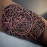 tattoo calendario azteca